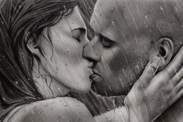Raindrops Dancing Upon My Lips written by Bernard Harris/BenkuPoems at Spillwords.com