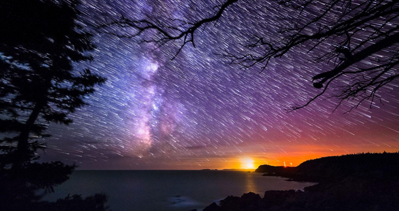 Milky Way and night sky workshops, time Night sky time lapse photography