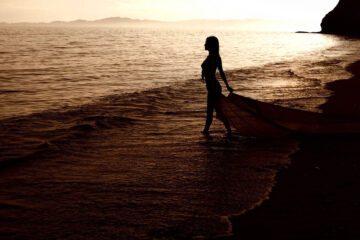 She turned with the tide by Joyce Butler at Spillwords.com