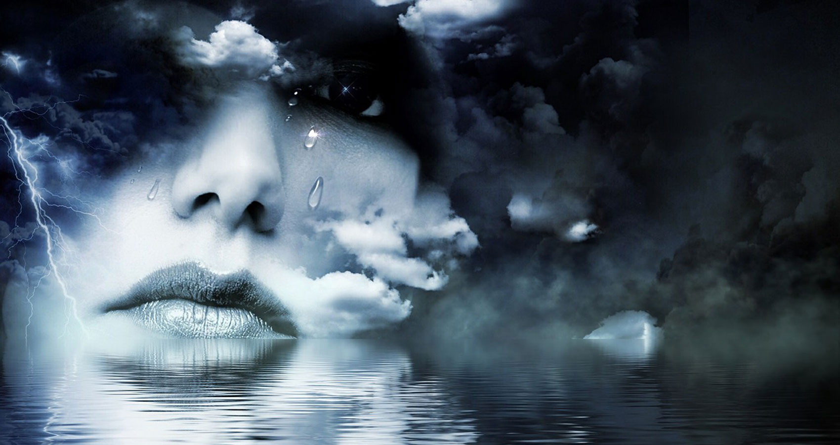 Tears written by Ashley Burriss at Spillwords.com