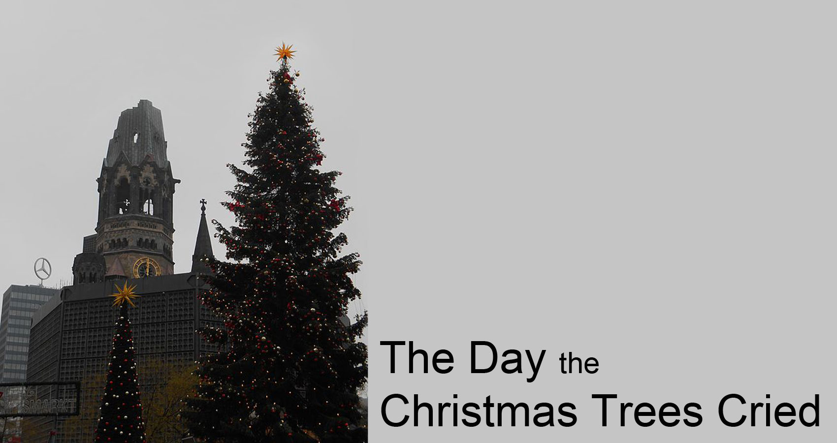 The Day the Christmas Trees Cried by Nobby66 at Spillwords.com