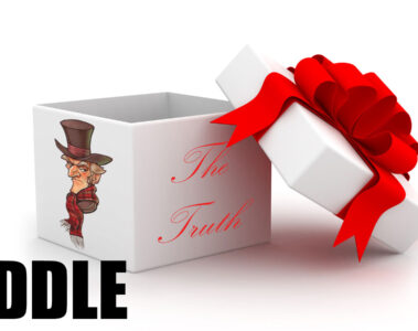 The Truth riddle wirtten by Liam Ward at Spillwords.com