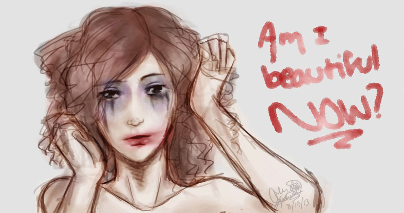 Am I Beautiful Now? by Leah Barker at Spillwords.com