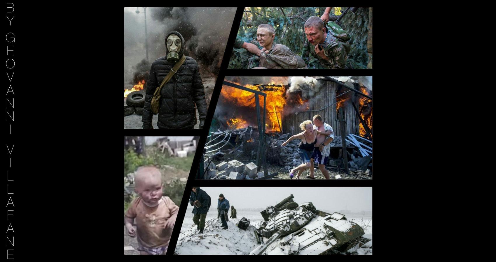Ukraine's Dismay by Geovanni Villafañe at Spillwords.com