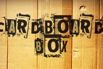 Cardboard Box written by Robbie Masso at Spillwords.com