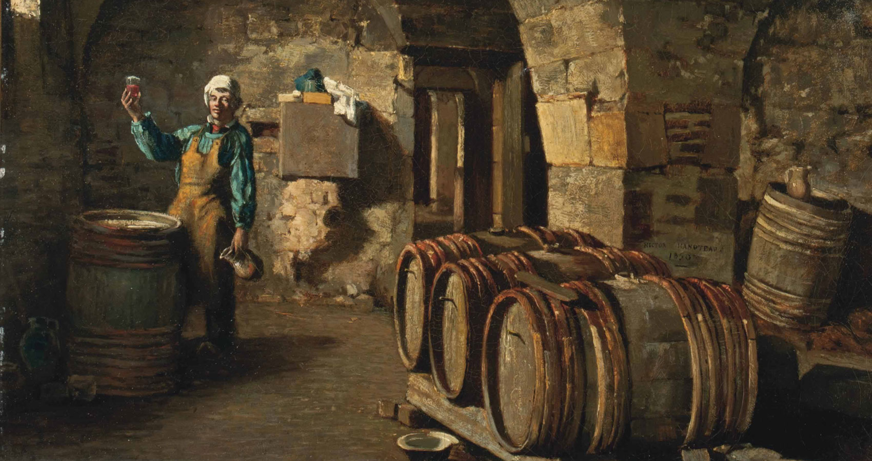 The Vintner and the Wine by Charlie Bottle at Spillwords.com