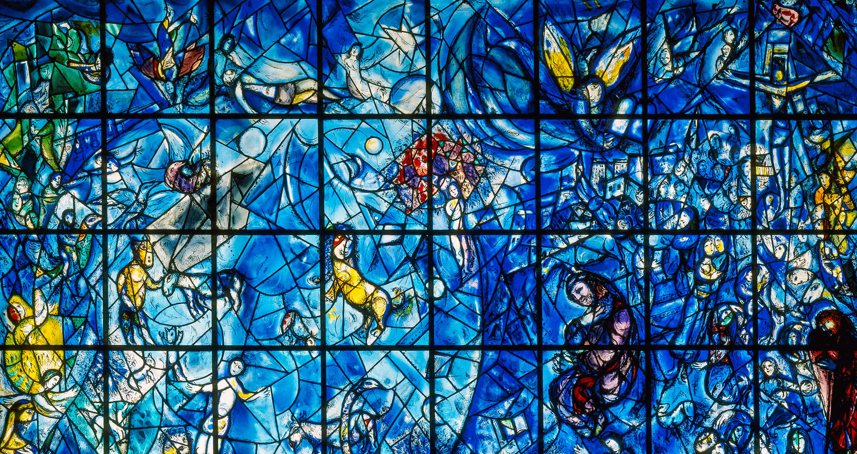 Christ and Chagall at the Gates of Jerusalem, written by Bob Jensen at Spillwords.com
