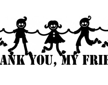 I Thank You, My Friends by Donna Africa at Spillwords.com