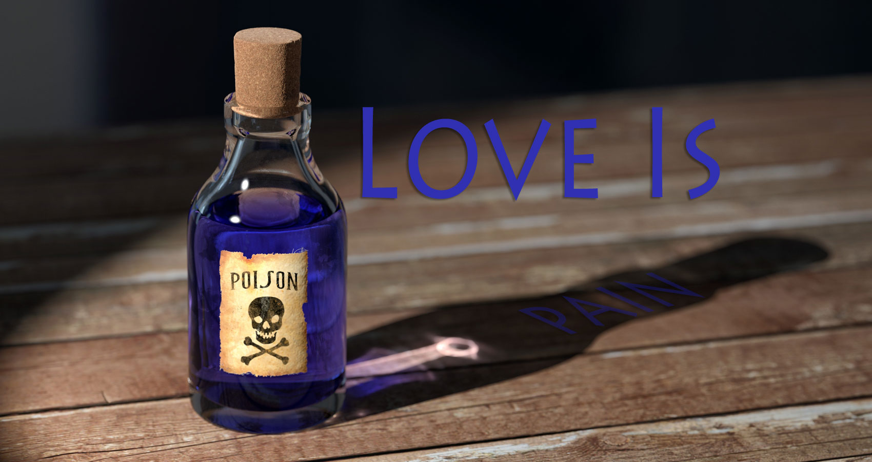 Love Is Pain written by Jasmin Mödlhammer at Spillwords.com