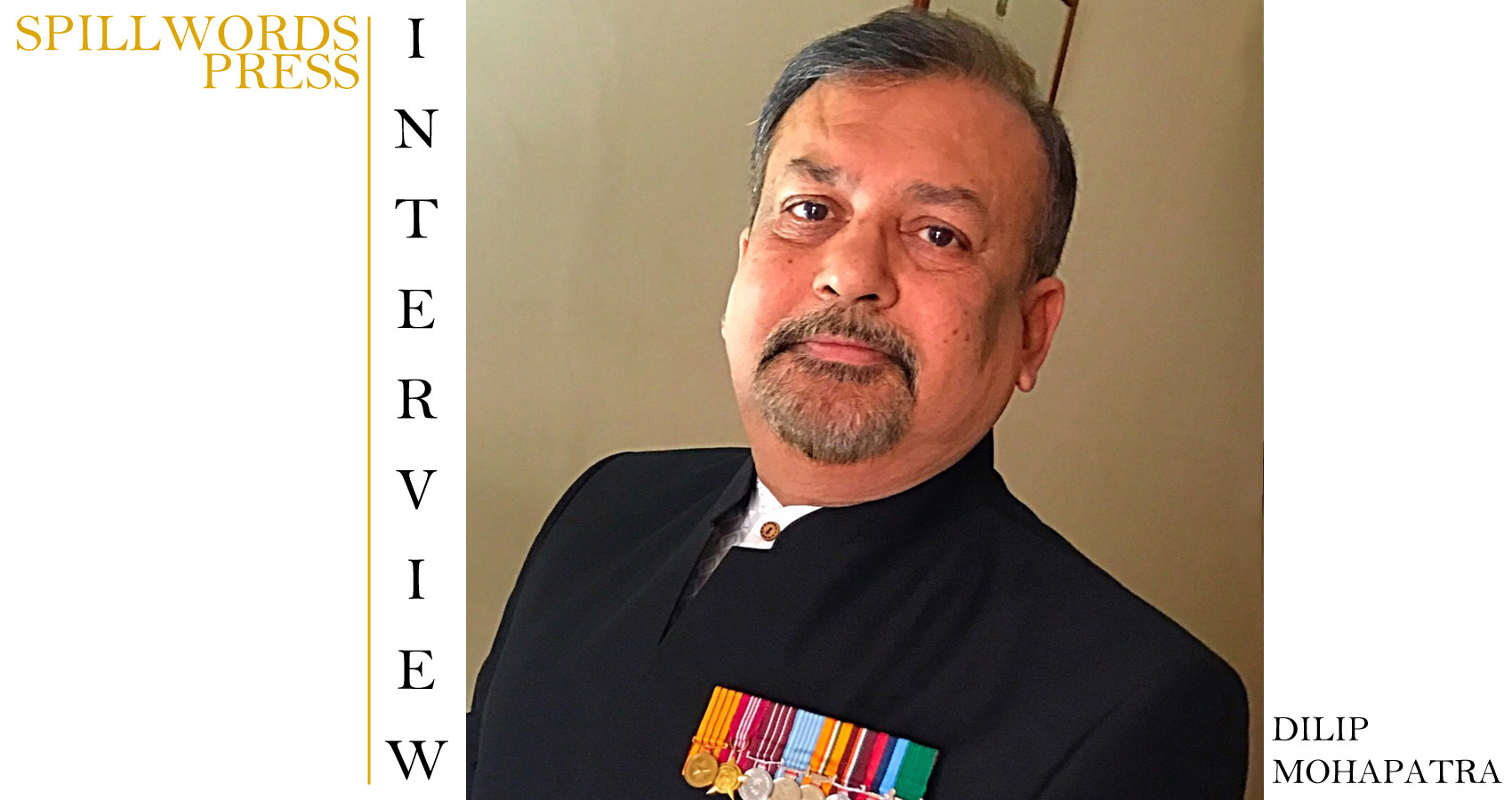 Interview With Dilip Mohapatra at Spillwords.com