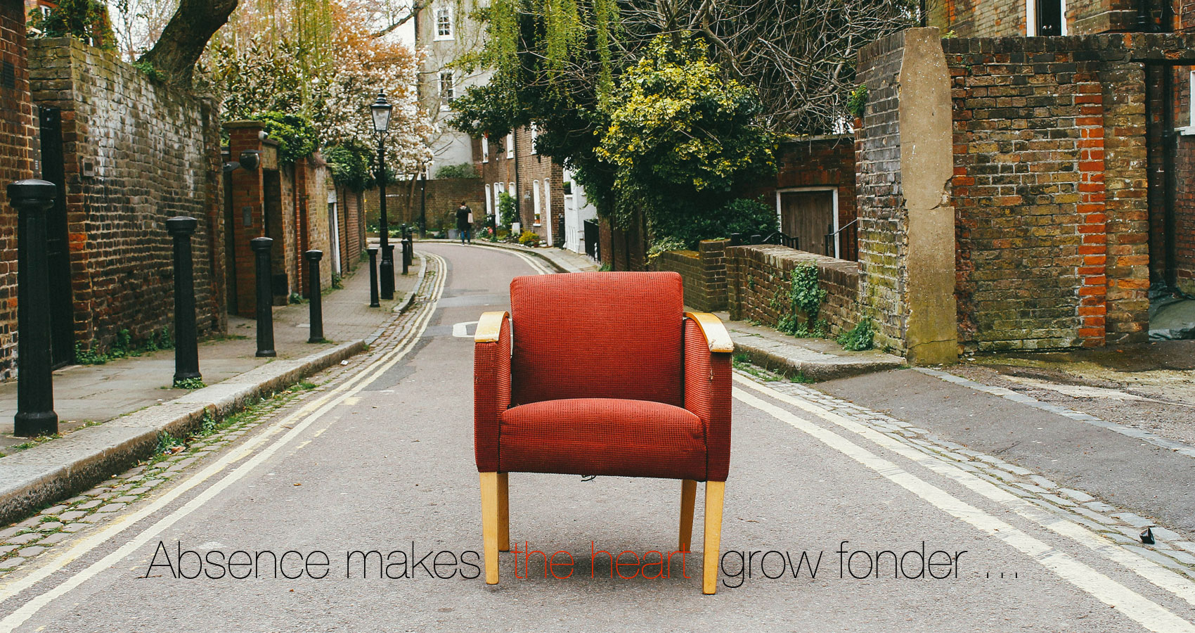 Absence Makes The Heart Grow Fonder ... written by Anne G at Spillwords.com