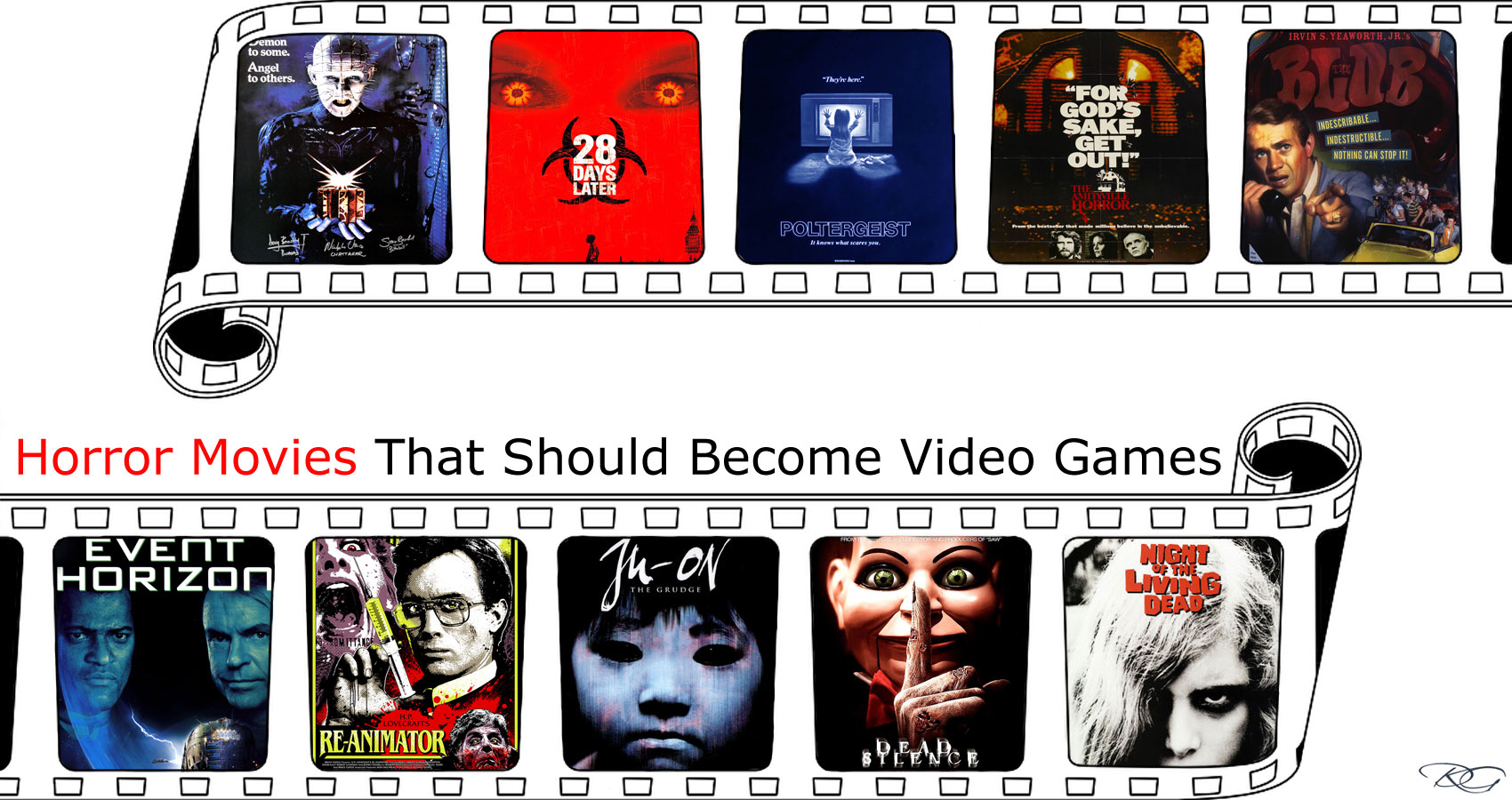 Horror Movies That Should Become Video Games written by Daniel S. Liuzzi at Spillwords.com