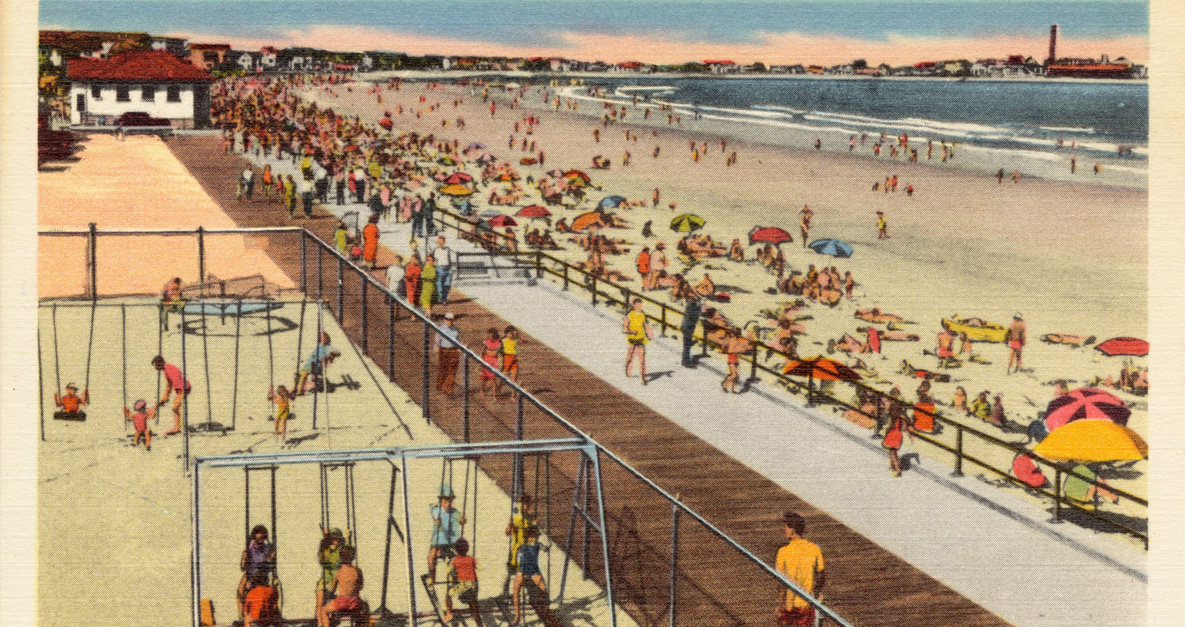 Hampton Beach by Mario William Vitale at Spillwords.com