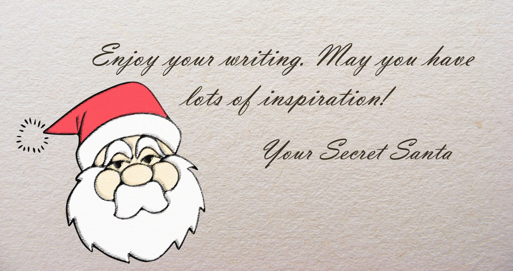 My Secret Santa written by Lorenzo Berardi at Spillwords.com