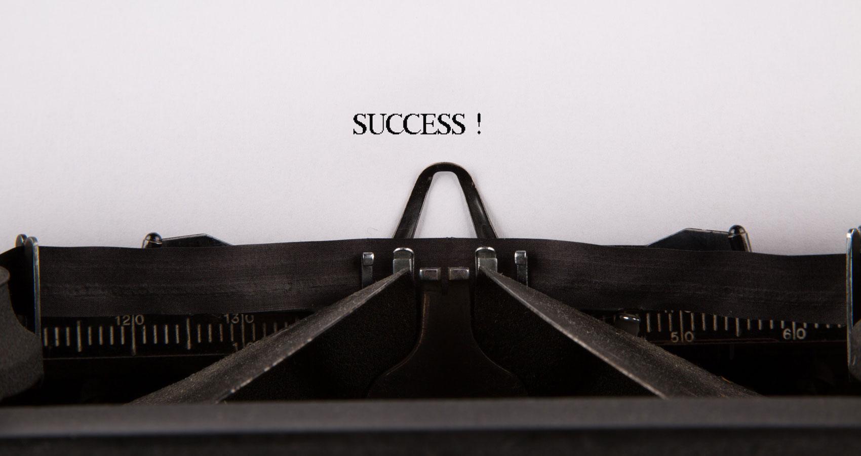 Success written by Dirk Sandarupa at Spillwords.com