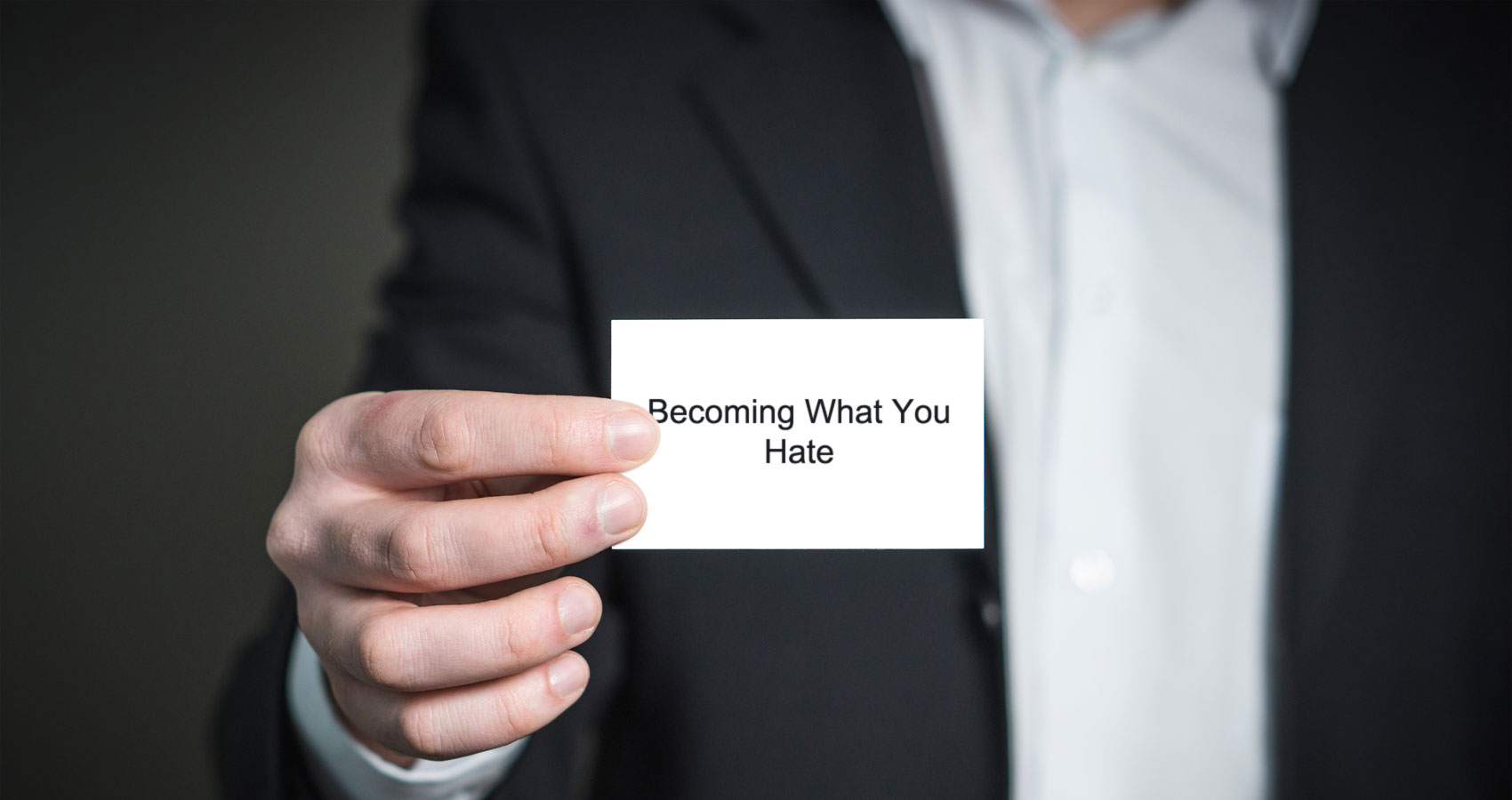 Becoming What You Hate, written by Beth Tremaglio at Spillwords.com