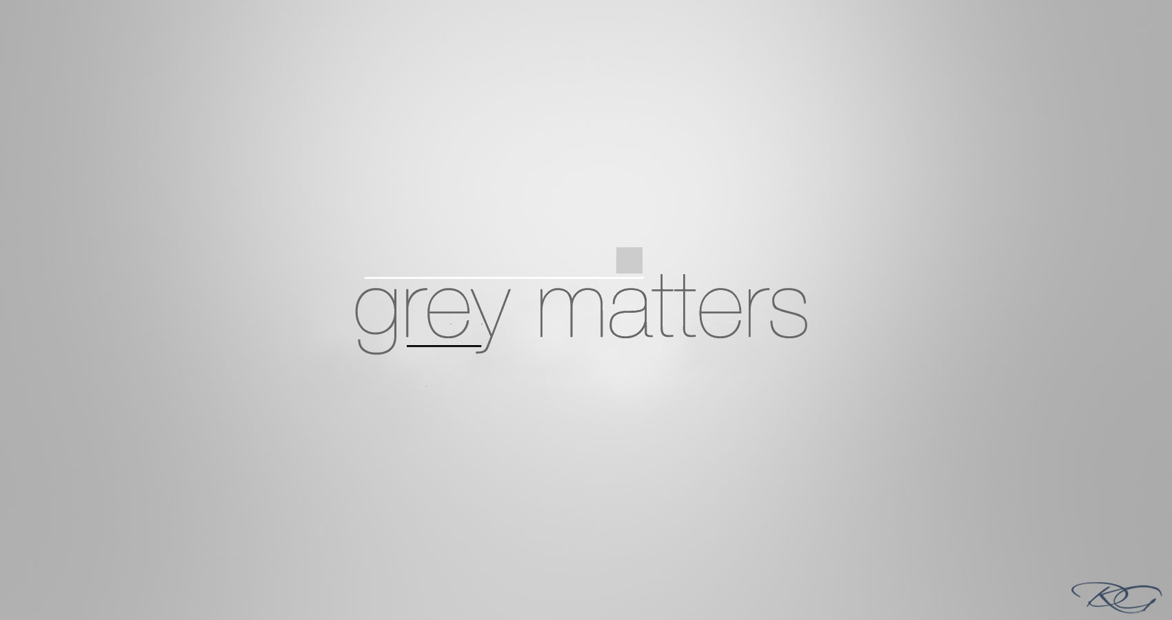Grey Matters written by Tony Ortiz at Spillwords.com
