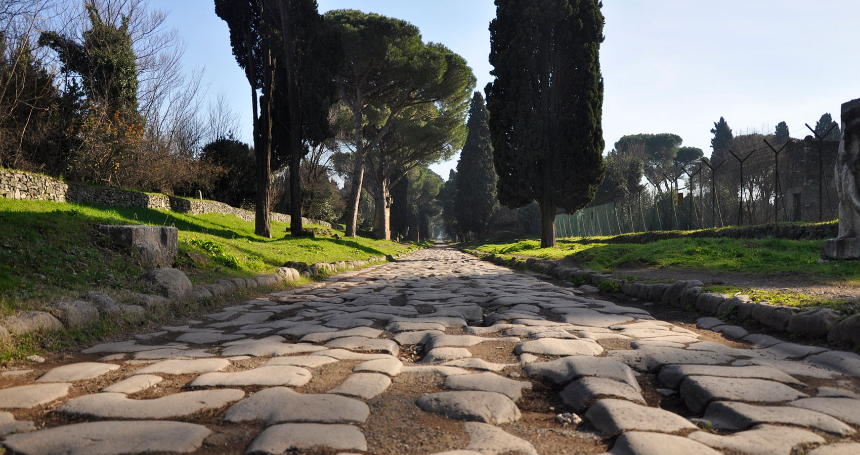 Via Appia written by Polly Oliver at Spillwords.com