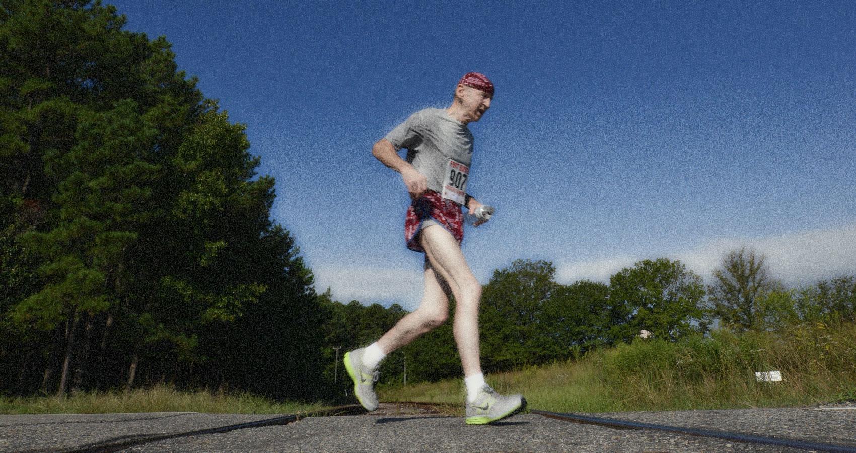 The Old Runner written by Ian Fletcher at Spillwords.com