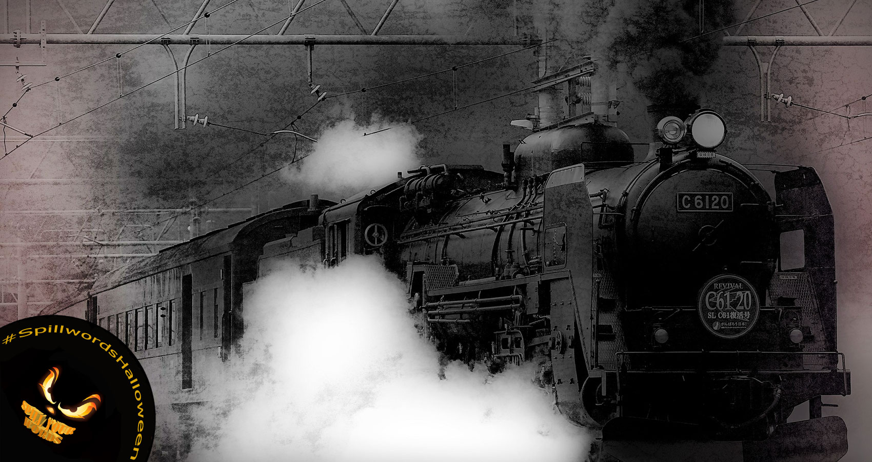 GHOST TRAIN written by TM DiSarro at Spillwords.com