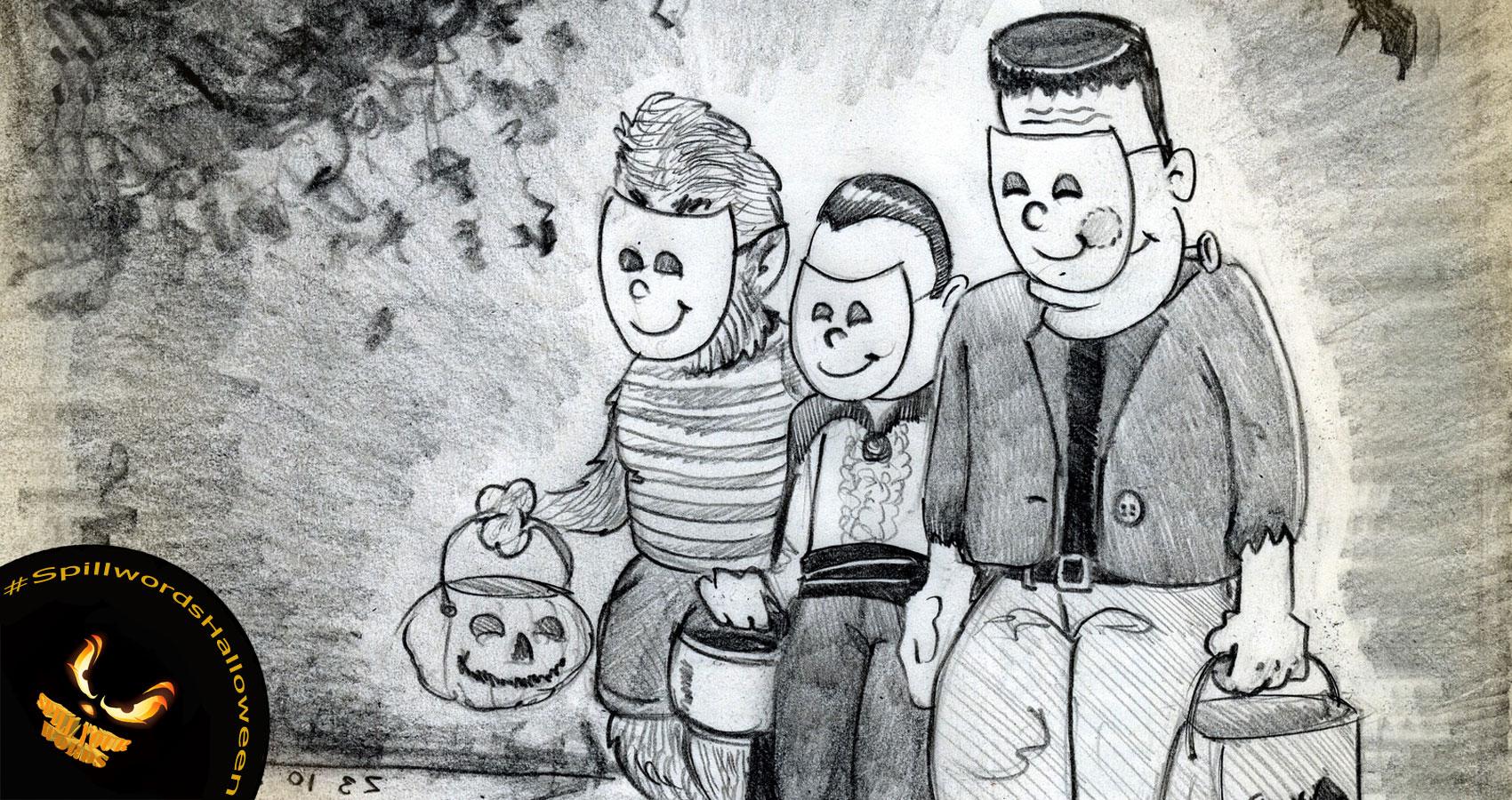 Halloween written by Ian Fletcher at Spillwords.com