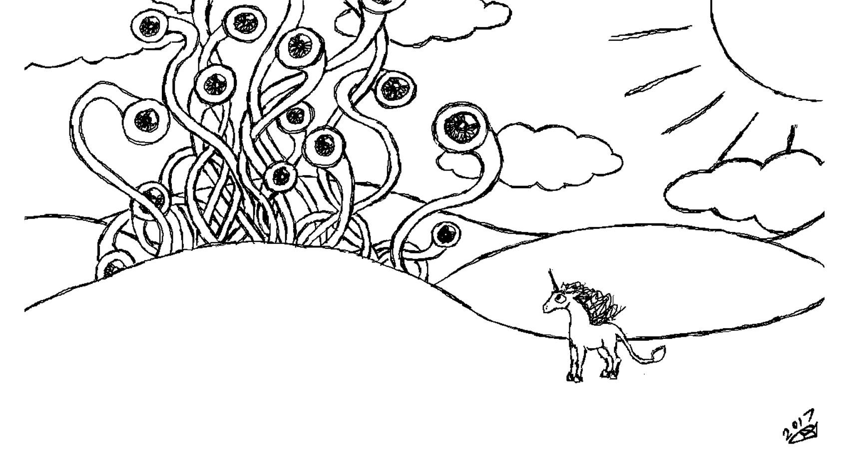 I Am A Unicorn written by Robyn MacKinnon at Spillwords.com