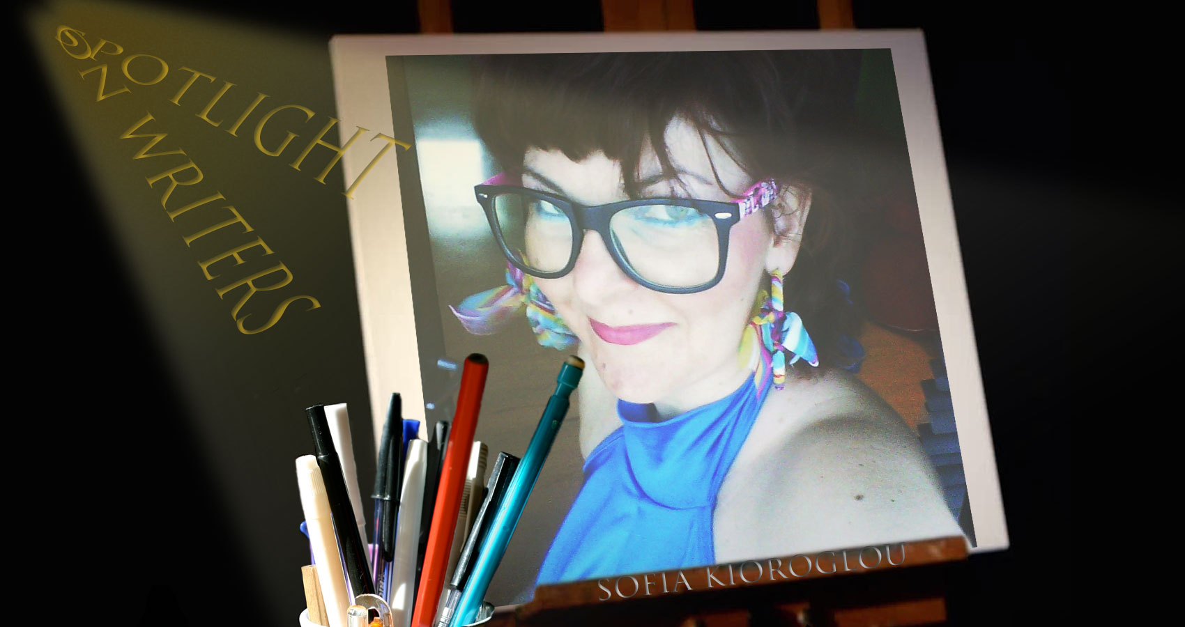Spotlight On Writers - Sofia Kioroglou at Spillwords.com