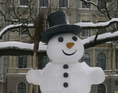 The Snowman written by LadyLily at Spillwords.com