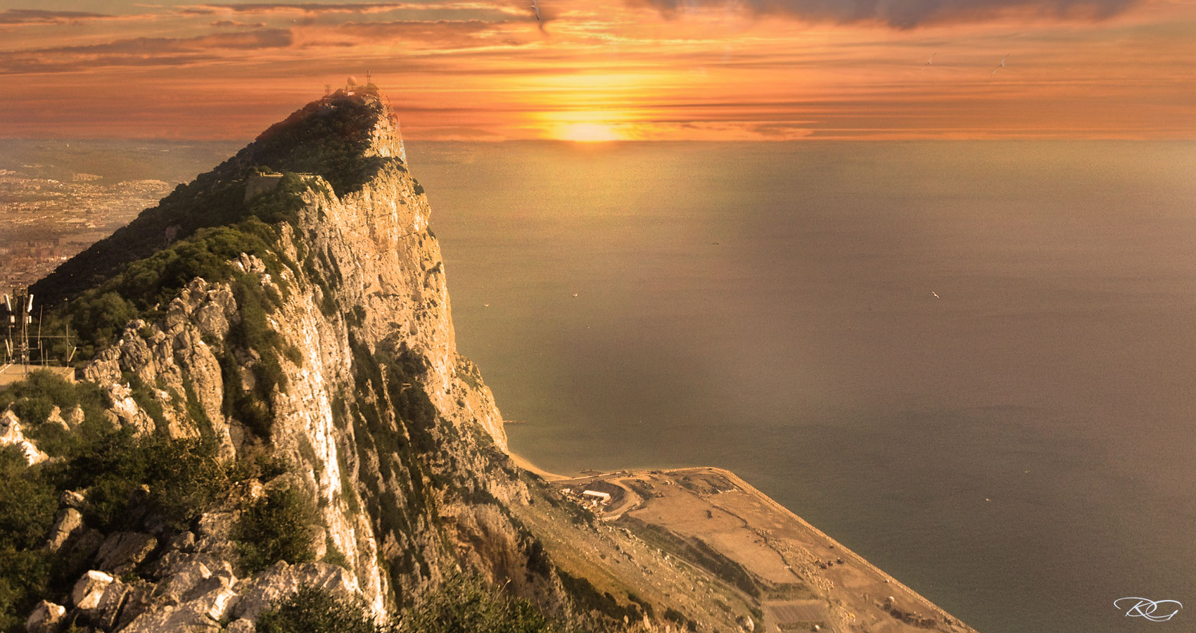 Dream Of Gibraltar by Nara Hodge at Spillwords.com
