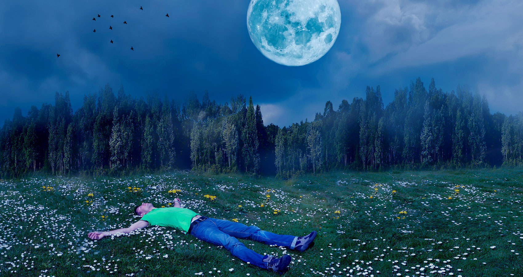 Sleeping Man written by Dru Free at Spillwords.com