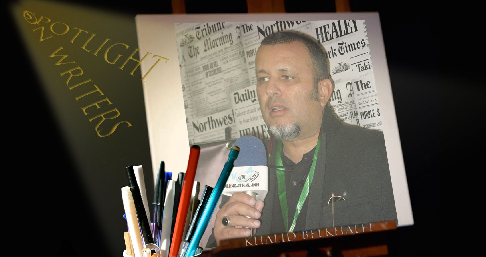 Spotlight On Writers - Khalid Belkhalfi at Spillwords.com