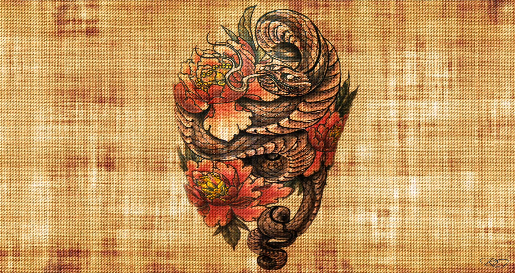 Dragons and Peonies by Christine E. Ray at Spillwords.com