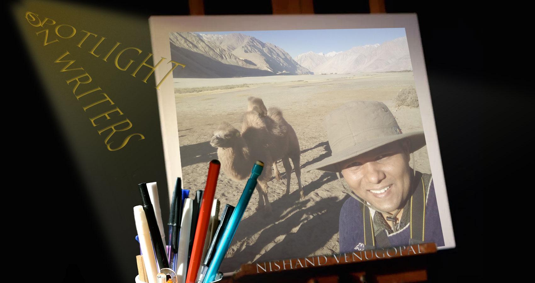 Spotlight On Writers - Nishand Venugopal at Spillwords.com