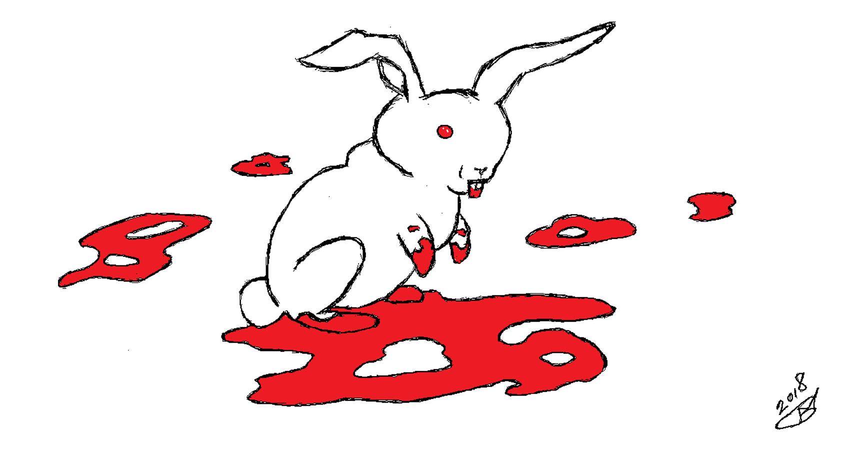 Killer Rabbit written by Robyn MacKinnon at Spillwords.com