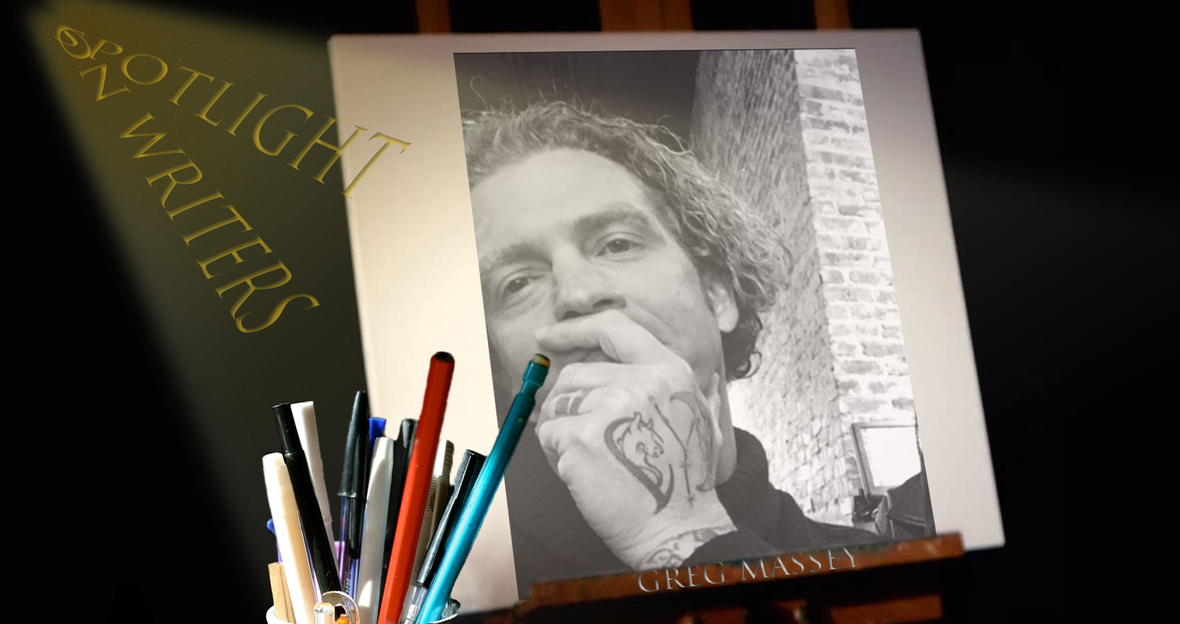 Spotlight On Writers - Greg Massey, interview at Spillwords