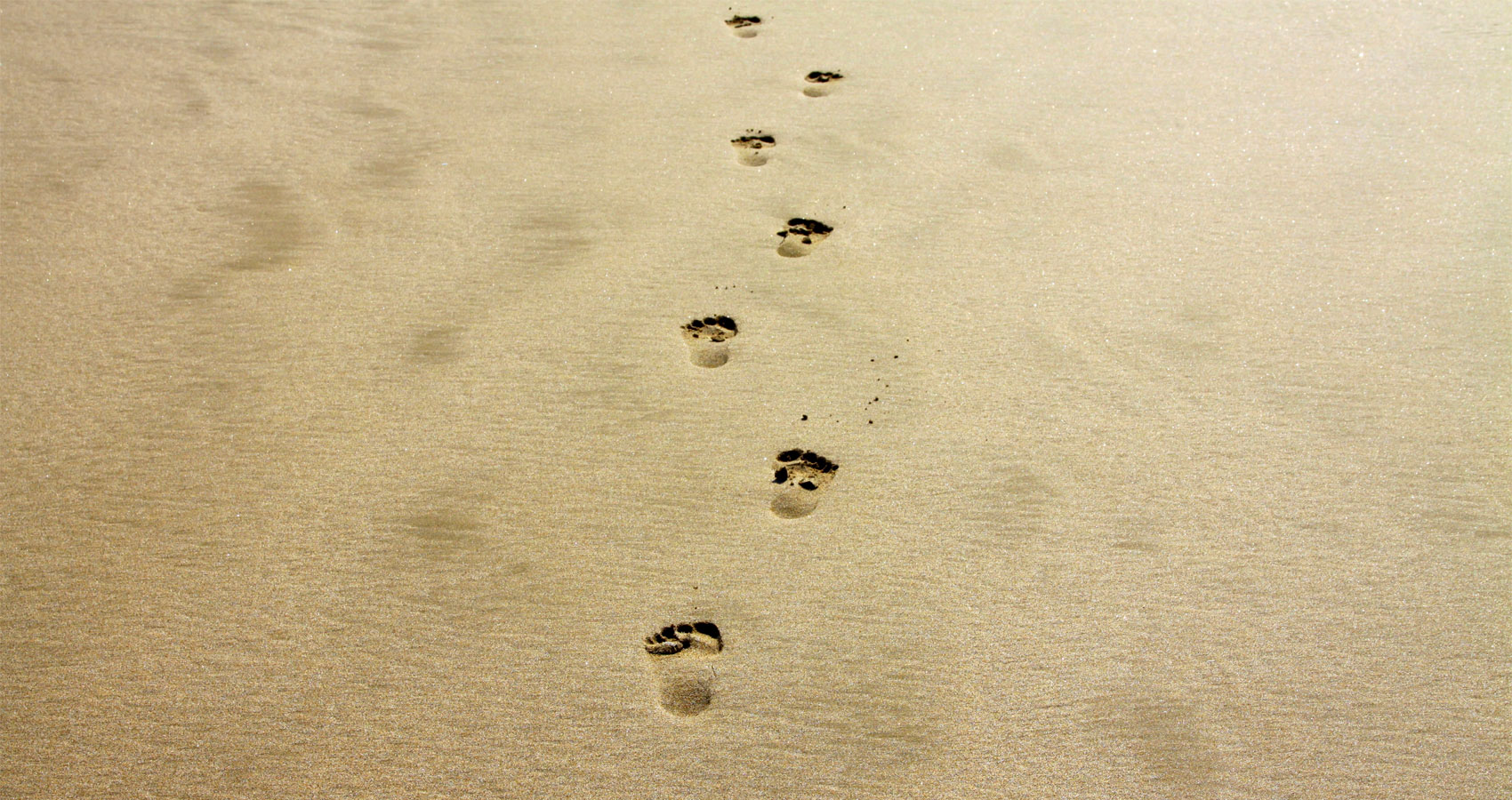 Footsteps, poetry written by Camille at Spillwords.com