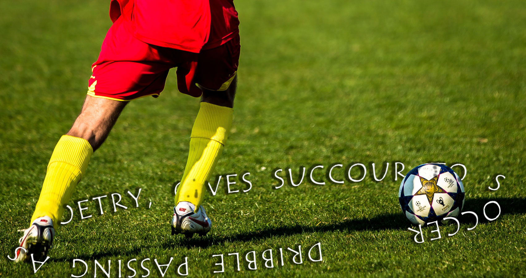 Dribble Passing As Poetry, Gives Succour To Soccer Fans by Michael Shea at Spillwords.com