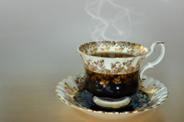 Tea Party a micropoem written by Ron Kempton at Spillwords.com