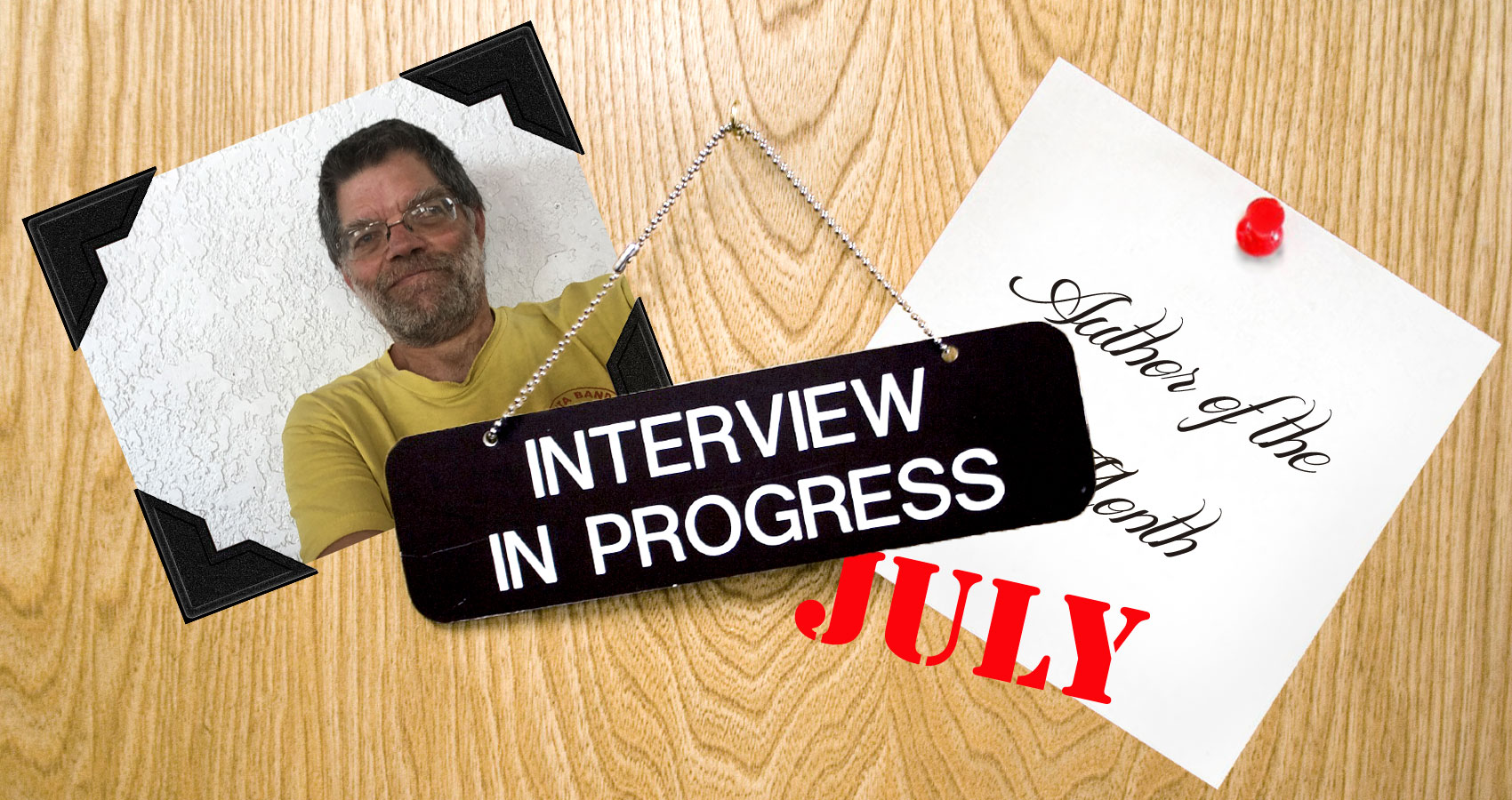 Interview Q&A with Mark Kuglin, Author of the Month of July 2018 at Spillwords.com