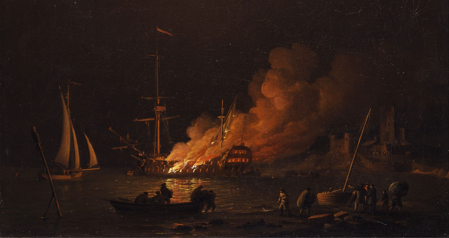 A Sailor Recounts The Sinking Of A Ship written by James Gabriel