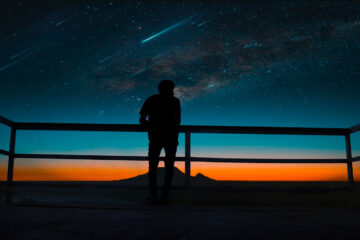 Falling Star, a poem written by J. G. Elas at Spillwords.com