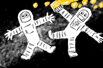 Space Party, written by Robyn MacKinnon at Spillwords.com