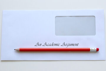 An Academic Argument, a poem by Aaron Marchant at Spillwords.com