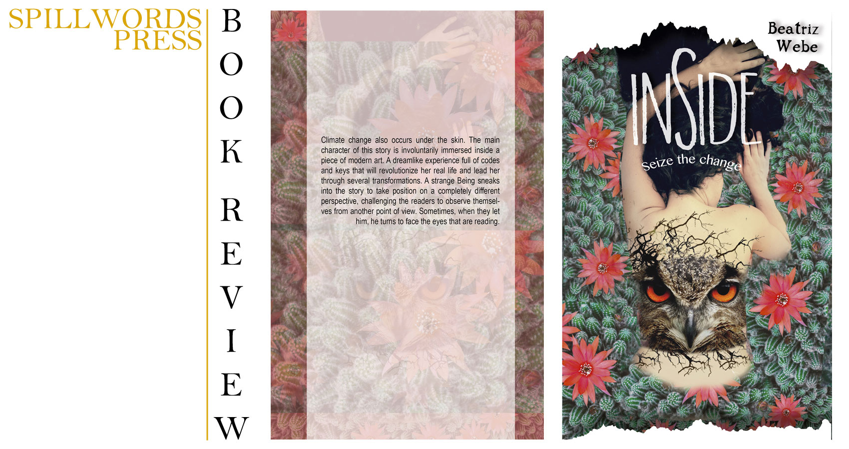 Book Review of a novel by Beatriz Webe 'INSIDE' at Spillwords.com