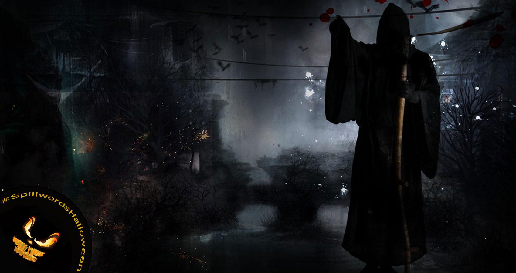 Grim Reaper, written by Verona Jones at Spillwords.com