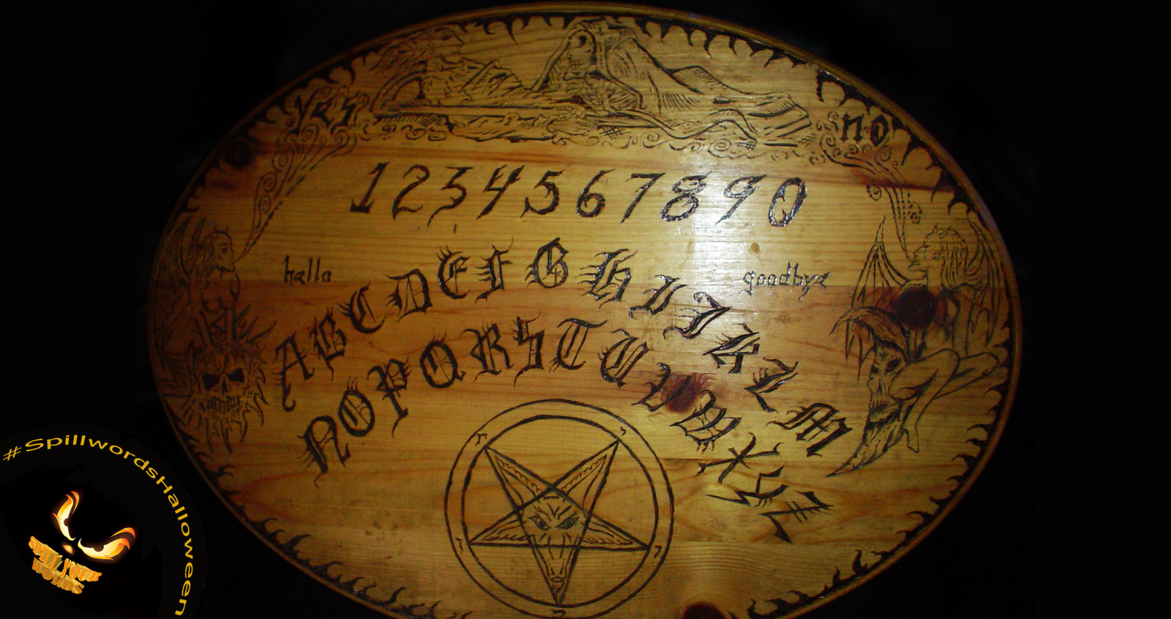 Ouija Tales, written by Stephanie Musarra at Spillwords.com