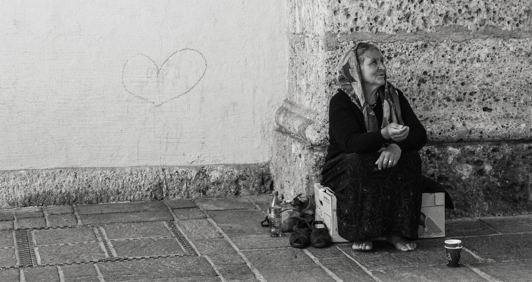 Poverty, a poem written by Steve Pearson at Spillwords.com