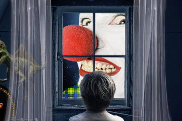 The Clown At The Window by Angel Daemon at Spillwords.com