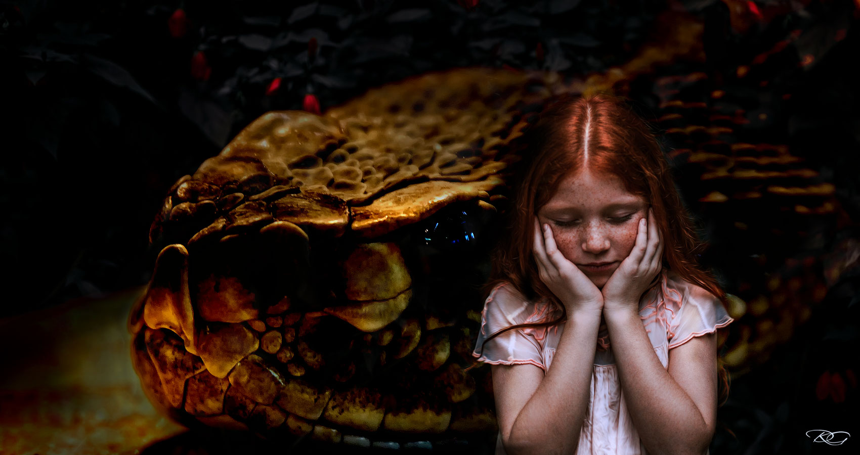 The Girl And The Snake, a short story by Ryan Kat Spillwords.com