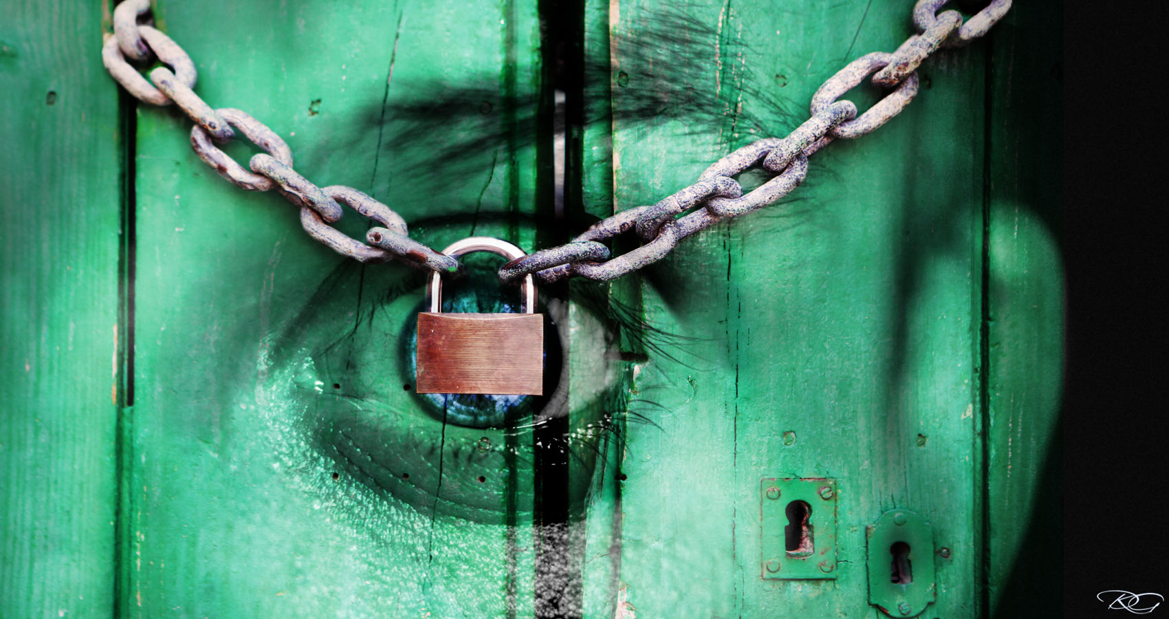 Locked Away written by David Wagoner at Spillwords.com